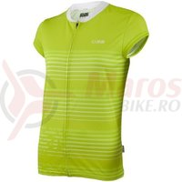 Tricou maneca lunga IXS Amabel Lady Trail lime