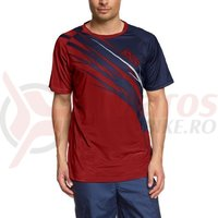 Tricou maneca lunga IXS Commod BC red