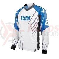 Tricou maneca lunga IXS Shatter DH Elite blue