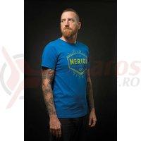 Tricou Merida blue/green