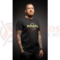 Tricou Merida Push&Pull scurt negru