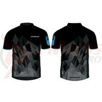 Tricou multifunctional Haibike men black/blue made by Maloja