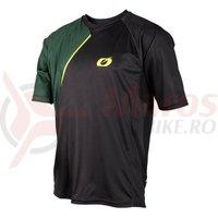 Tricou O'Neal Pin It negru/verde