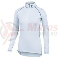 Tricou P.R.O. Baselayer transfer zip neck LS femei Pearl Izumi ride/run
