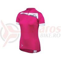 Tricou P.R.O. MTB launch femei Pearl Izumi ride roz