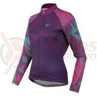 Tricou Pearl Izumi Elite thermal LTD femei ride wineberry