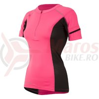 Tricou Pearl Izumi pursuit endurance short sleeve ladies run pk bk