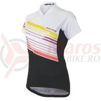 Tricou Pearl Izumi select LTD maneca scurta femei ride rainbow livcoral