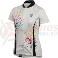 Tricou Pearl Izumi select LTD maneca scurta femei ride splash white