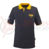 Tricou Polo Gaerne 1962 grey yellow