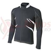Tricou Premium maneca lunga barbati black/white Shimano