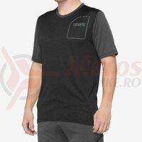 Tricou Ridecamp Jersey Charcoal/Black