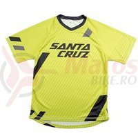 Tricou Santa Cruz STrail Jersey Yellow
