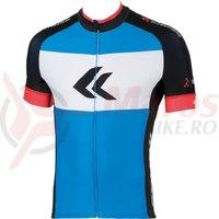 Tricou scurt barbati Kross Race blue