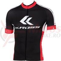Tricou scurt barbati Kross Race Pro black