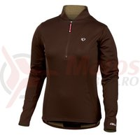 Tricou select aurora thermal top femei Pearl Izumi run coffee
