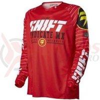 Tricou Shift MX-Jersey Strike Jersey red