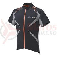 Tricou Shimano Accu3D maneca scurta explorer barbati gargoyle/orange