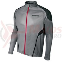 Tricou Shimano All Mountain maneca lunga titanium/black