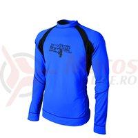 Tricou Shimano casual Fast Dry outdoor albastru/negru