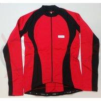 Tricou Shimano Originals maneca lunga pentru femei rosu/negru