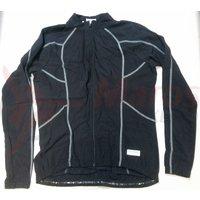 Tricou Shimano Performance lombardia cu maneca lunga negru/gri