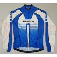 Tricou Shimano Performance maneca lunga albastru/alb/negru