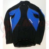 Tricou Shimano Performance Premium pentru barbati maneca lunga negru/albastru