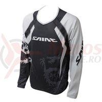 Tricou Shimano Saint maneca lunga negru/titanium