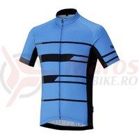 Tricou Shimano Shimano team short sleeve blue