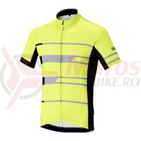 Tricou Shimano Shimano team short sleeve neon yellow