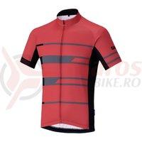 Tricou Shimano Shimano team short sleeve red