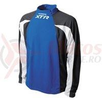 Tricou Shimano XTR MTB maneca lunga albastru/negru