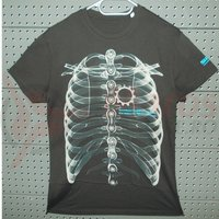 Tricou t-shirt Shimano WOP campaign X-Ray black