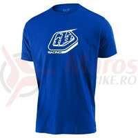Tricou Troy Lee Designs Racing Shield Blue 2020