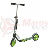 Trotineta Big Wheel Hudora alu 8' GC205 Verde/Gri 205 mm