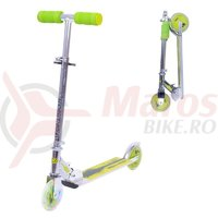 Trotineta WORKER Racer Urban Boy 125 mm-cu roti iluminate