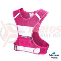 Vesta reflectorizanta 3M Salzman roz