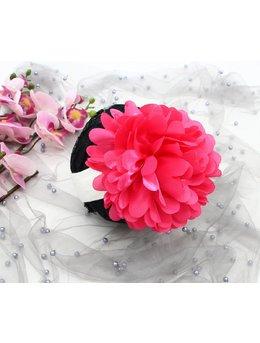 Bentita 0-12 luni floare mare ciclam