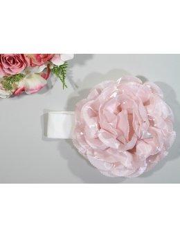Bentita 0-12 luni floare mare roz