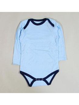 Body bleu simplu