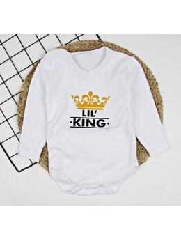 Body Lil King maneca lunga