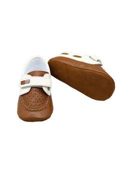 Botosei eleganti 100% piele naturala maro