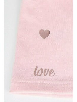 Caciulita fetite Love roz