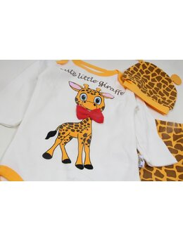 Compleu 3 piese girafa