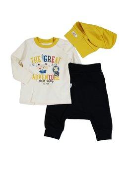 Compleu bebe galben-negru