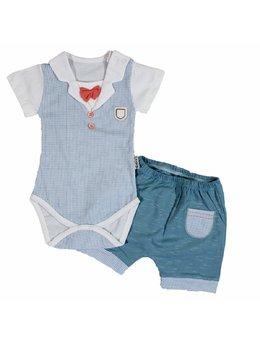 Compleu body+pantalon scurt