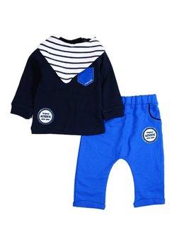 Compleu fashion albastru baby M