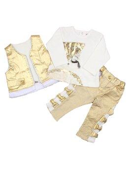 Compleu fashion auriu
