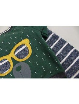 Compleu fashion verde 6-12 luni cod: C9114